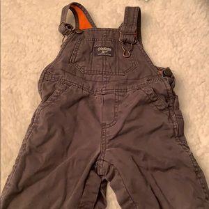 Oshkosh Bgosh grey overalls